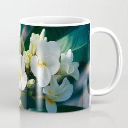 Pua Melia Na Puakea Onaona Tropical Plumeria Maui Hawaii Coffee Mug