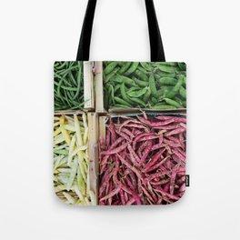 Beans of various colors Tote Bag