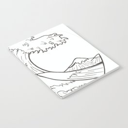 The wave of Kanagawa Notebook