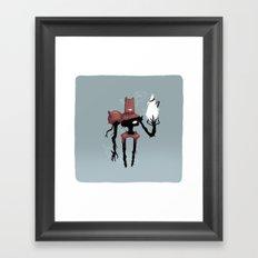 Bro. Framed Art Print