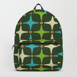 Mid Century Modern Star Pattern 581 Backpack