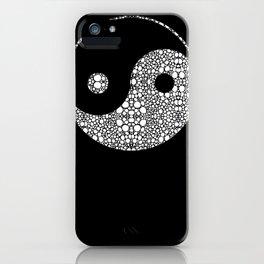 Perfect Balance 2 - Yin and Yang Stone Rock'd Art by Sharon Cummings iPhone Case