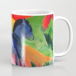 "Franz Marc ""Little Blue Horse"" Coffee Mug"