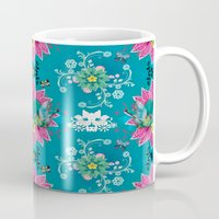 china Mugs featuring China Fairytale by Million Dollar Design