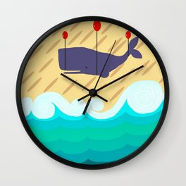 Randall The Whale Wall Clock