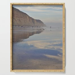 Beach Reflections - Photography Serving Tray