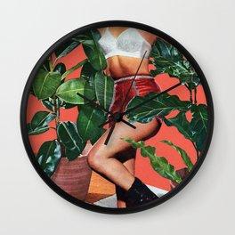 House Plants II Wall Clock
