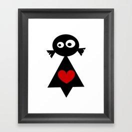 ···MuÑeQUita MoOi MoOi... Framed Art Print