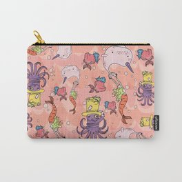Octopus Party Carry-All Pouch