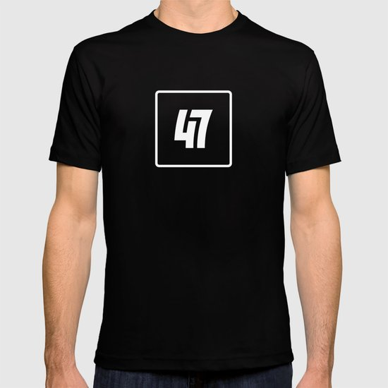 47 - Hero Invert Outline T-shirt