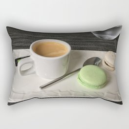 A Coffee Break in Paris Rectangular Pillow