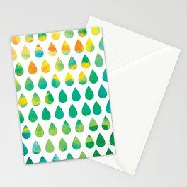 Monsoon Rain Stationery Cards