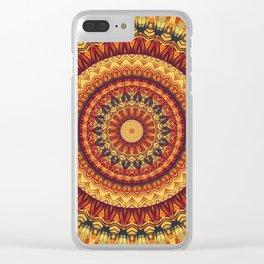 Mandala 322 Clear iPhone Case