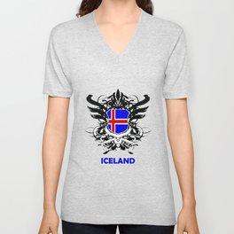 Iceland Uefa Euro 2016 Unisex V-Neck