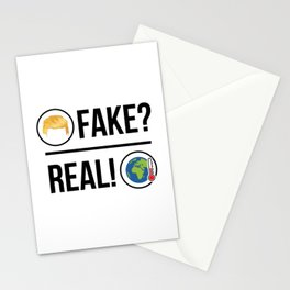 Global Warming is Real! Stationery Cards