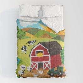 Daybreak on the Farm Comforters