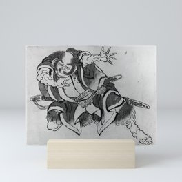 Katsushika Hokusai - Sakata Kintoki Mini Art Print