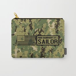 Proud Grandparents of a Sailor Carry-All Pouch