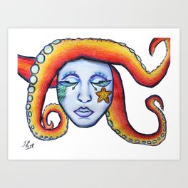 The Sea Witch  Art Print