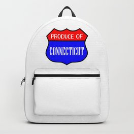 Produce Of Connecticut Backpack