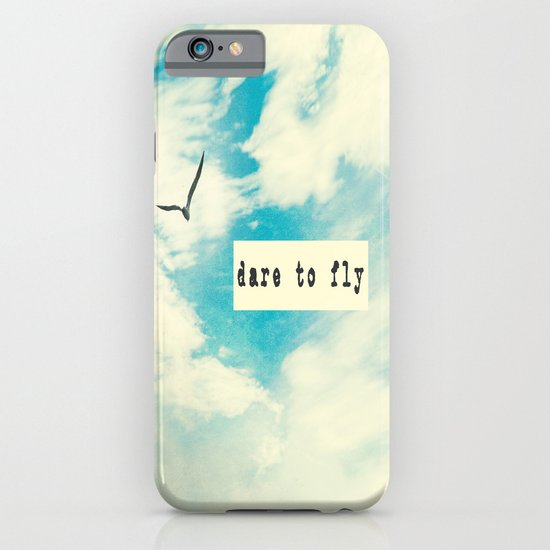 Dare to Fly II iPhone & iPod Case