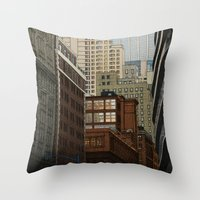 labyrinth Throw Pillows featuring Labyrinth by Megs stuff...