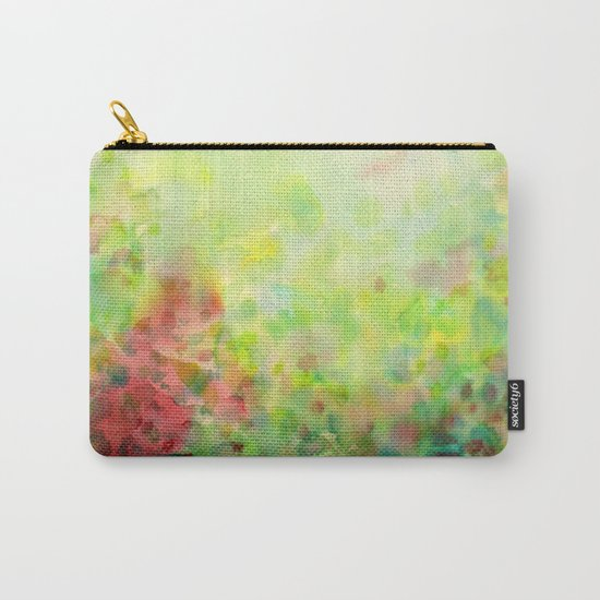 Green Mystical Spring Carry-All Pouch