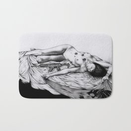 """""""2062: the castle of trapped Amazons"""" cover Bath Mat"""