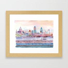 Colorful London Framed Art Print
