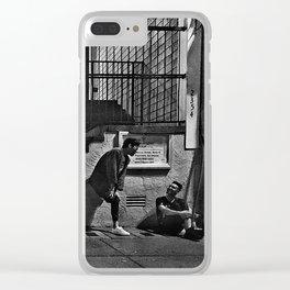 Secret talk Clear iPhone Case