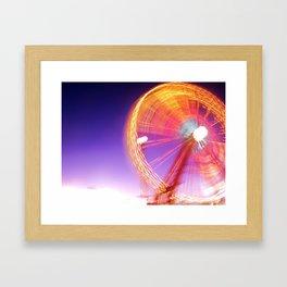 Wheel Keeps Turnin' Framed Art Print