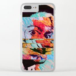 Psycho Sal II Clear iPhone Case
