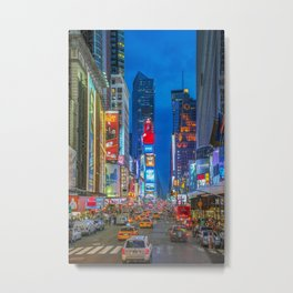 Times Square (Broadway) Metal Print
