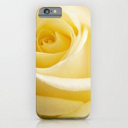 Light Beige Rose iPhone Case
