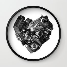 I`m in Love Wall Clock