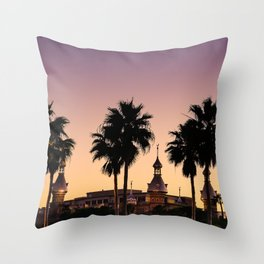 University of Tampa at Sunset Throw Pillow