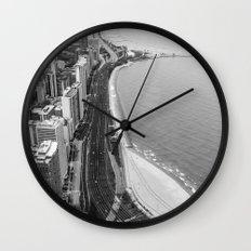 Lakeshore Drive Wall Clock