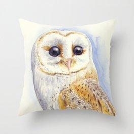 Owl bird Throw Pillow