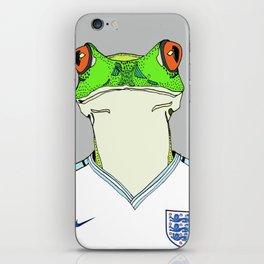 Football Frog iPhone Skin