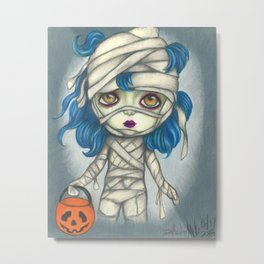Are You My Mummy Metal Print