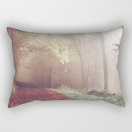LOST IN THE PATH Rectangular Pillow