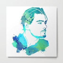 DiCaprio Metal Print