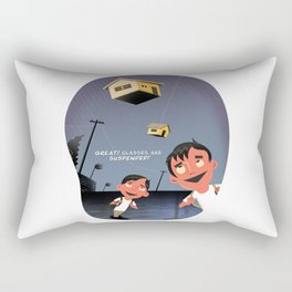 Philippine Typhoons Rectangular Pillow