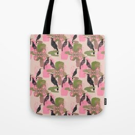 Huias and Proteas Tote Bag