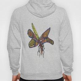 Orange Dragonfly Hoody
