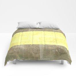 Goldy Blocked | Minimalist | Abstract | Modern | Shapes | Geometrix Comforters