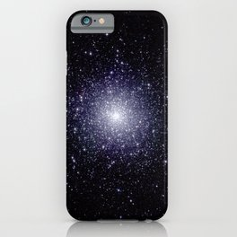 2MASS Space Telescope Image - Globular Cluster 47 Tucanae (2003) iPhone Case