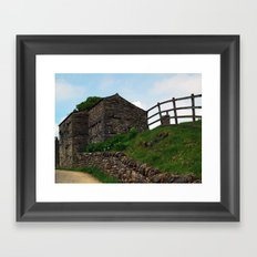 A Keld Barn Framed Art Print