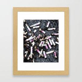 Parliament Pink Framed Art Print