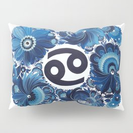 Cancer in Petrykivka Style (without artist's signature/date) Pillow Sham